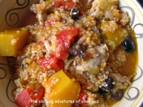 Hearty Chicken Stew with Butternut Squash and Quinoa. Will totally sub ...