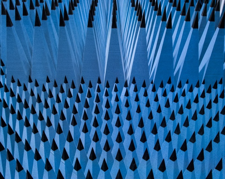 Radio Anechoic Chamber of the DTU Alastair Philip Wiper  #Photography #Copenhagen