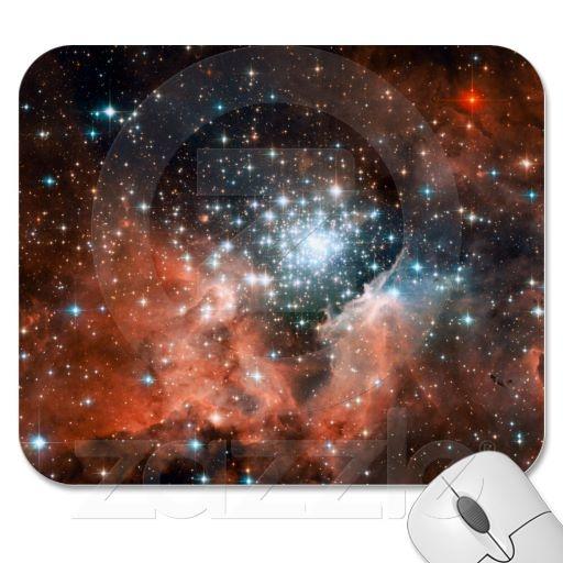 Orange Stars In Space Orange Star In Space -...