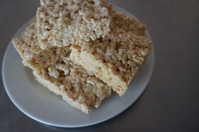 salted brown butter crispy treats | Food- The Scarf and Stripe | Pint ...