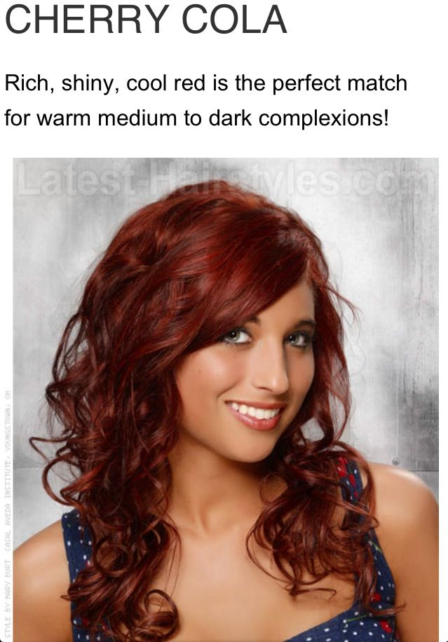 Cherry cola red hair color | Hair | Pinterest