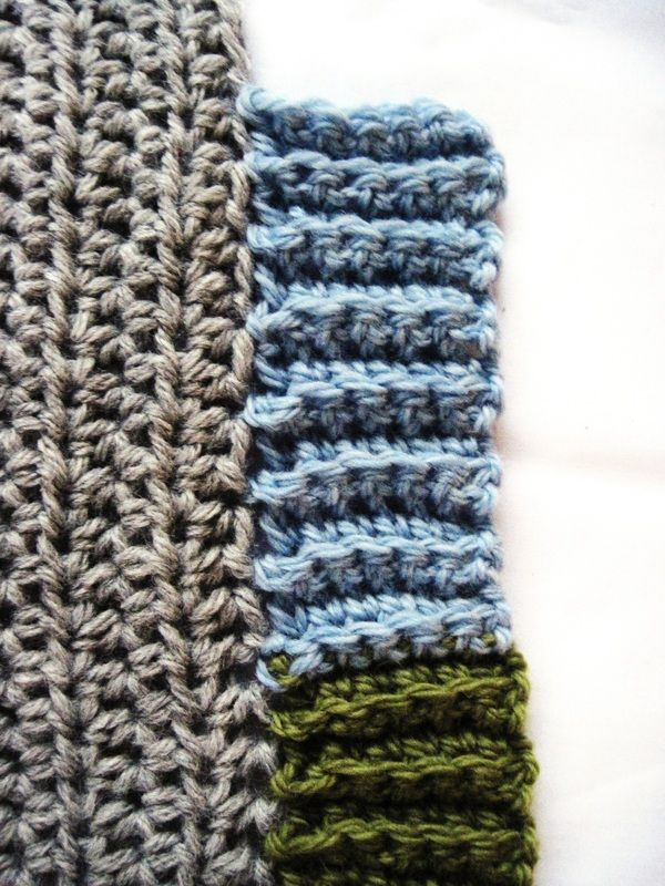 Crochet Ribbing Crocheting Pinterest
