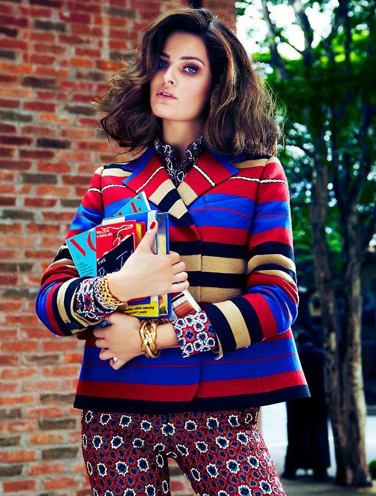 Isabeli Fontana by Fabio Bartelt for Vogue Brasil June 2012