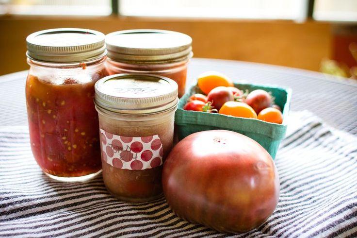 Roasted freezer tomatoes | food | Pinterest