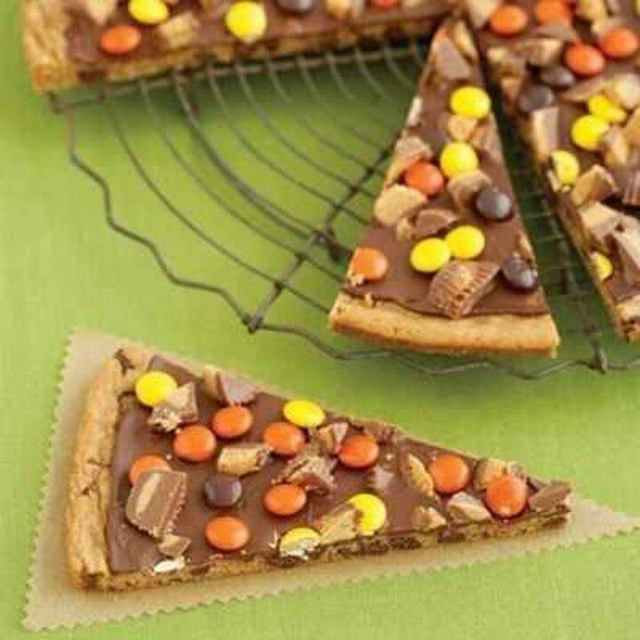 Chocolate-Peanut Butter Cookie Pizza Recipes — Dishmaps