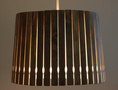 paint stick pendant light