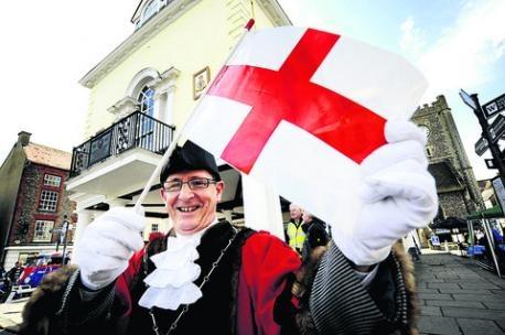 st george cross flag