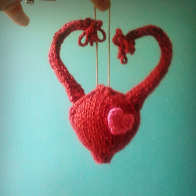 Ravelry: Beanymamas christmas uterus No thanks, Id rather knit ...