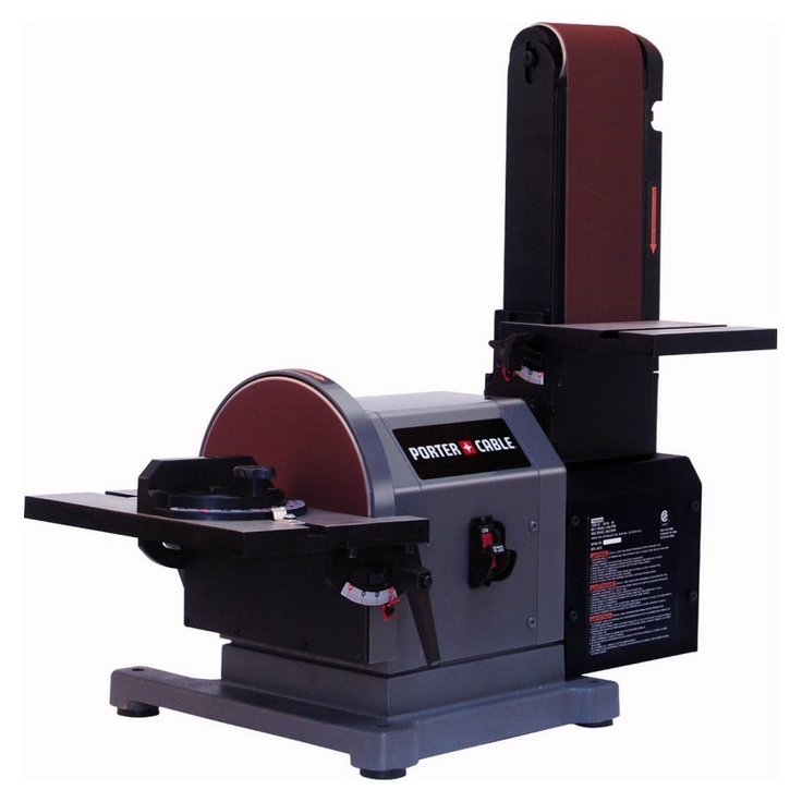 Belt disc bench sander workshop pinterest Bench belt sander