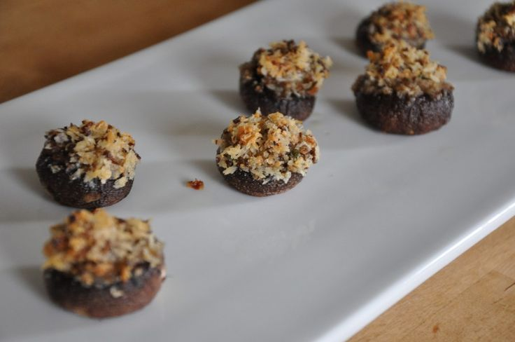 Mouth-watering Stuffed Mushrooms | Mushrooms stuff 'em | Pinterest