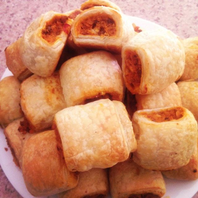 Sweet potato and lentil sausage rolls. | Food | Pinterest