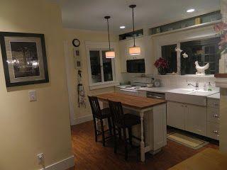 Perfect width island kitchen pinterest