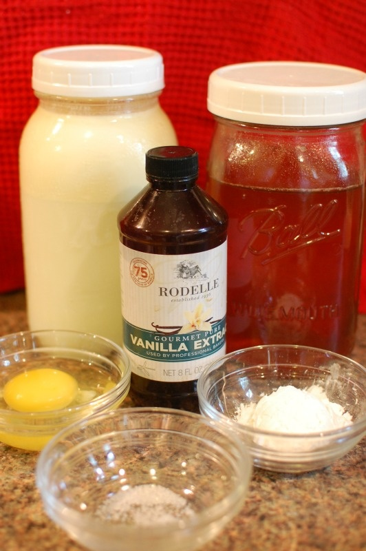 Honey Sweetened Vanilla Pudding Pop Recipe...use LF milk....Made this ...