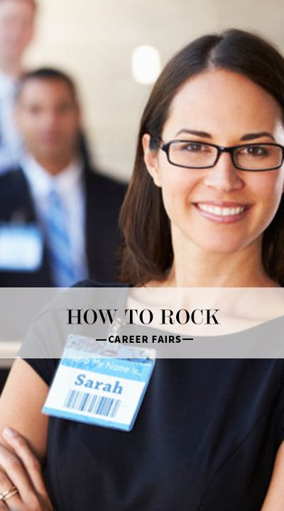 How to Rock the Career Fair