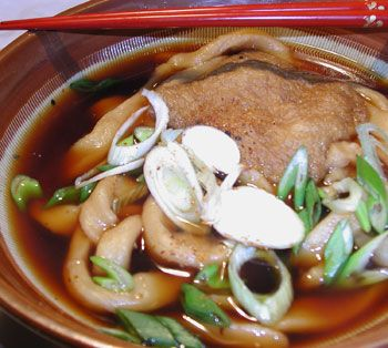 Kitsune Udon recipe | From Japan with Love | Pinterest