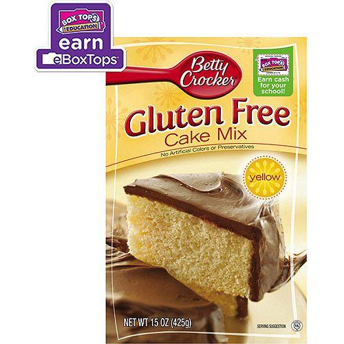 Betty Crocker Gluten Free Yellow Cake Mix, 15 Oz