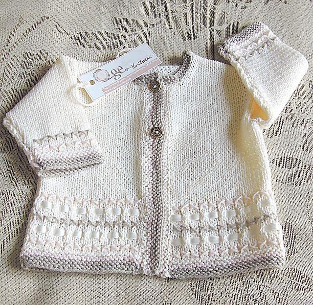 Jacket with optional hood - P007 pattern by OGE Knitwear Designs