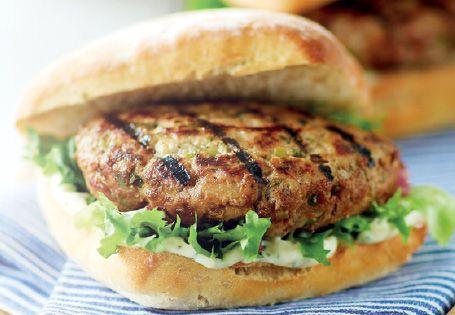 Pork and Apple burgers | Tea | Pinterest