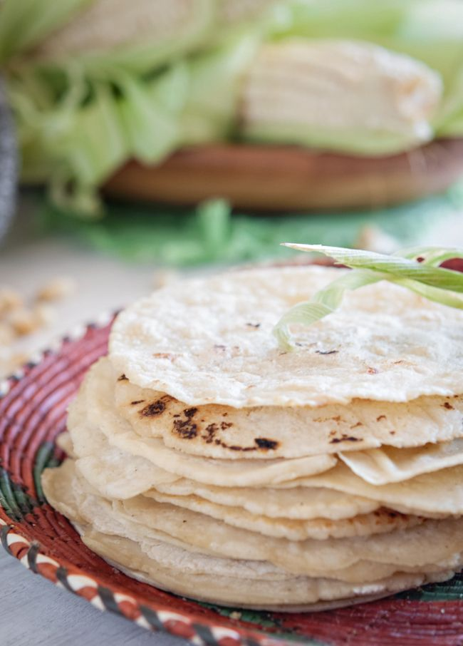 Homemade Corn Tortillas: 2 cups masa harina (not corn meal, hot fresh ...