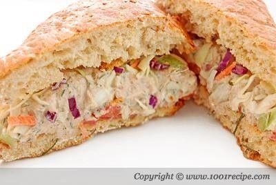 Tuna Salad Sandwich | cooking | Pinterest