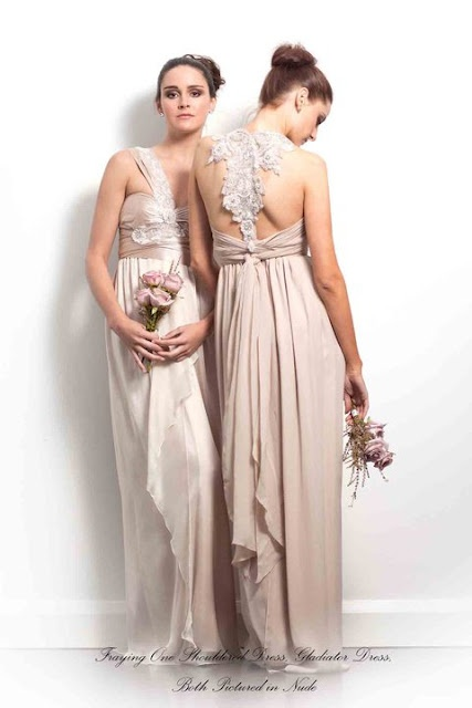 Anna campbell bridesmaid dresses bridesmaids flower for Anna campbell vintage wedding dress