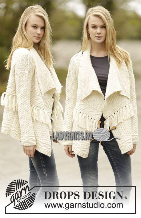 Женский свитер дропс дизайн