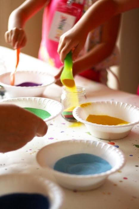 tidbits: Little Artist Party