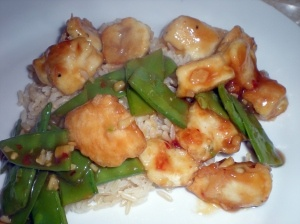 General Tso's Chicken (A bit lighter)   Korean dishes   Pinterest