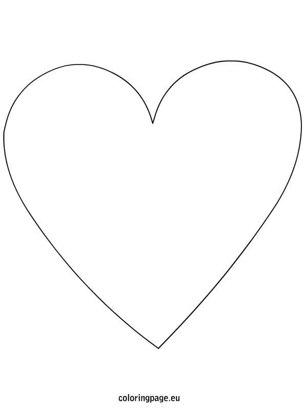 Heart Shape Template Cake Ideas