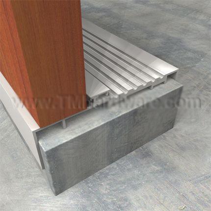 Aluminum Door Replacing Aluminum Door Threshold