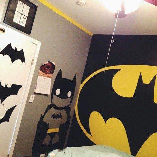 batman bedroom home decor pinterest
