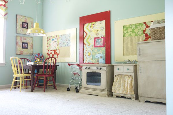 play kitchen upcycled