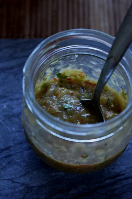Tomatillo Salsa Recipe ~ great for grilled meat, fish, scrambled eggs ...