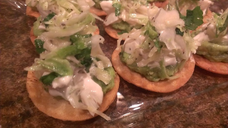 Lump Crab Tostadas! | food and drink | Pinterest