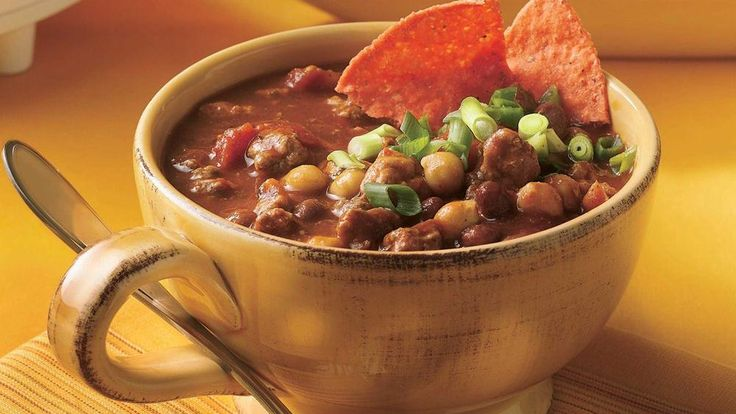 Slow-Cooker Spicy Chili | Recipe