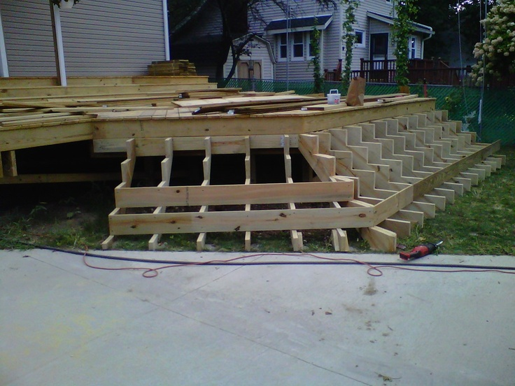 Backyard Bay View : Our First Nest Deck Build  Part Done  All Hands on Deck