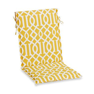 Outdoor Sling Back Chair Cushion New House Ideas Pinterest