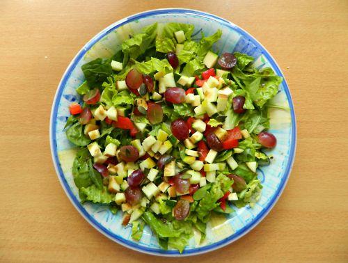 Moroccan Zucchini, Grape, And Bell Pepper Salad Recipes — Dishmaps