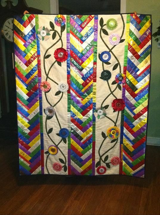 Dog Show Ribbons And Rosettes