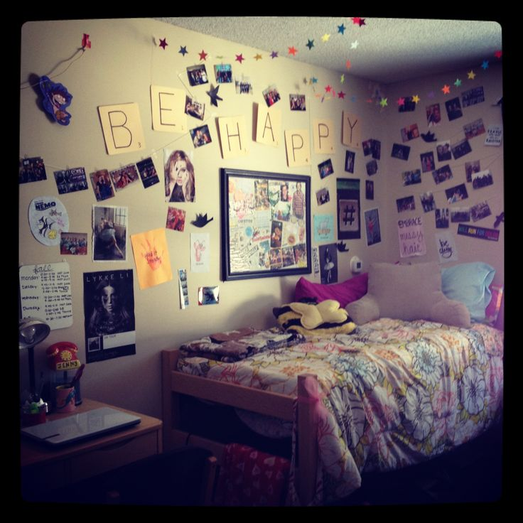 So many cute dorm decorating ideas dream home pinterest for Hall room decoration ideas