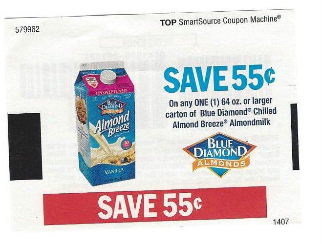 Almond milk coupons printable 2018