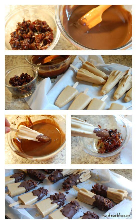 Fat Elvis Pudding Pops Recipe — Dishmaps