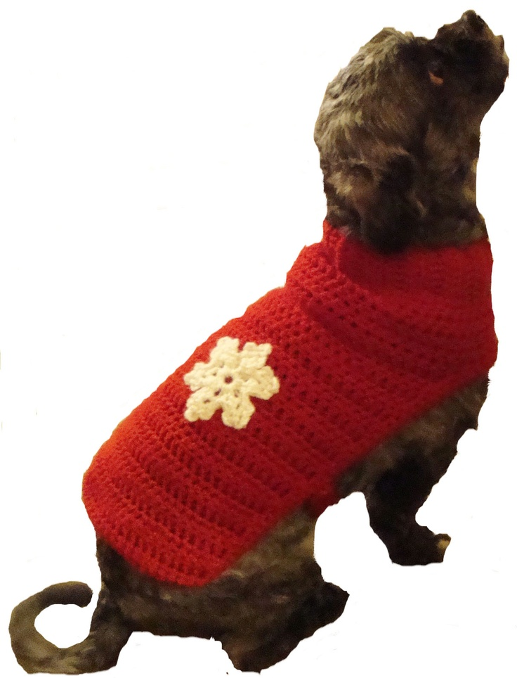 Crochet Dog Sweater : dog sweaters