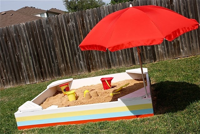Backyard Sandbox : DIY Backyard Sandbox  Craft ideas and DIY  Pinterest