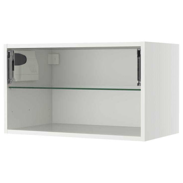 Ikea faktum horizontal wall cabinet for Akurum kitchen cabinets ikea