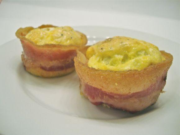 Bacon egg cupcakes 4 | Breakfast | Pinterest