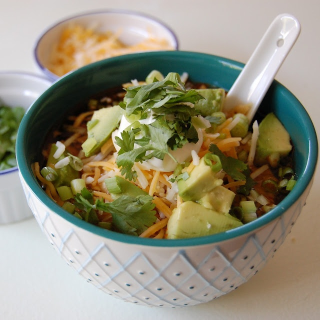 Vegetarian Tortilla Soup - haven't actually tried this one but it ...