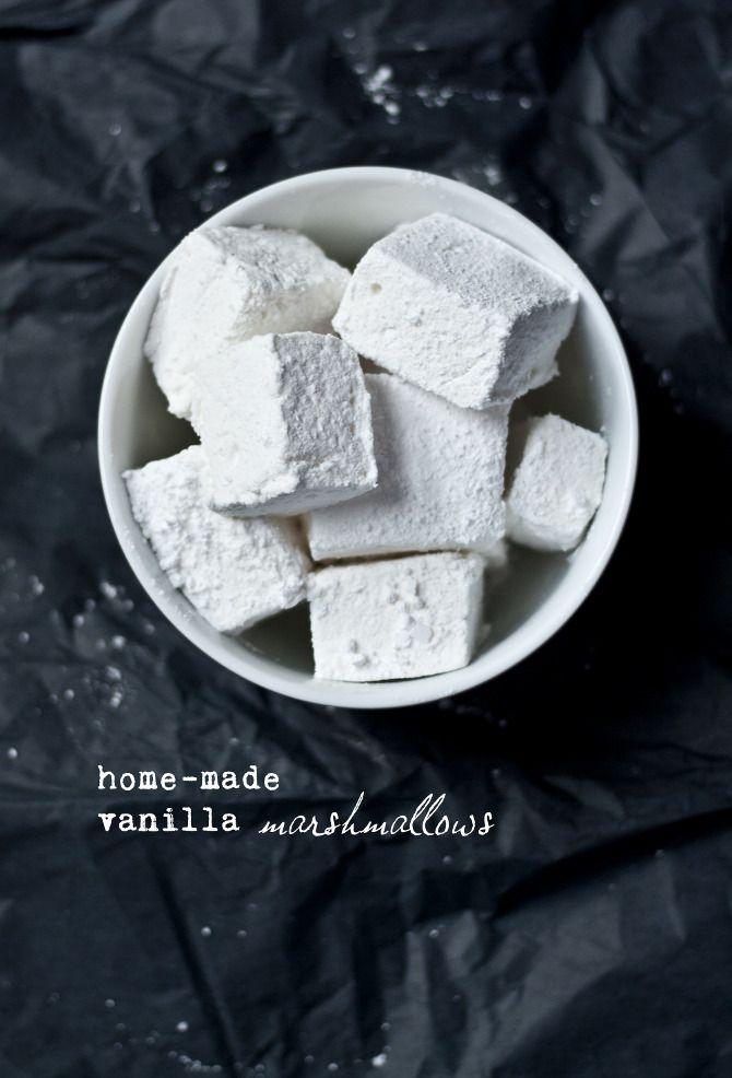 homemade vanilla marshmallows | Food Worth Making | Pinterest