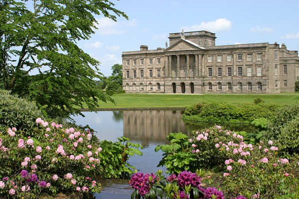Lyme Hall Park in Derbyshire, England - AKA Pemberly in the 1995 adaptation of Pride & Prejudice