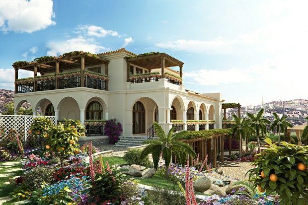 Mediterranean Villa Mediterranean Style Homes Pinterest